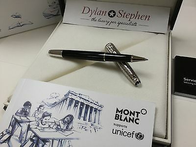 montblanc meisterstuck UNICEF solitaire doue classique rollerball pen NEW