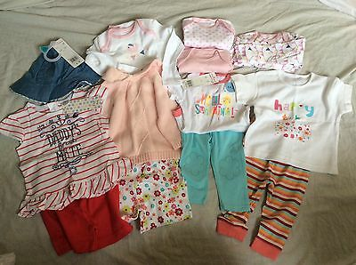 NEW baby girls clothes bundle - 6 to 9 months