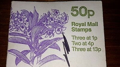 Royal mail 50p stamp book