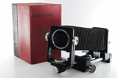 BRONICA Bellows Type Attachment for S TILT SHIFT SWING RIZE [EXCELLENT] k1395