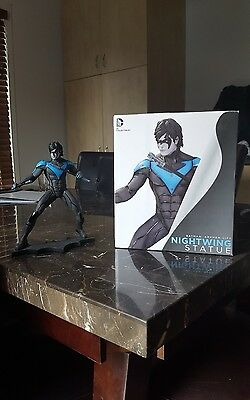 dc collectibles arkham city nightwing statue