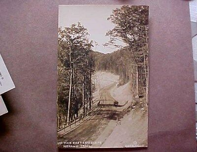 Up The Eastern Slope - Mohawk Trail, Massachusetts - Auto Real Photo - Postcard