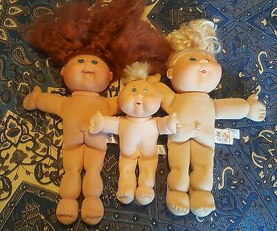 Cabbage patch dolls x 3