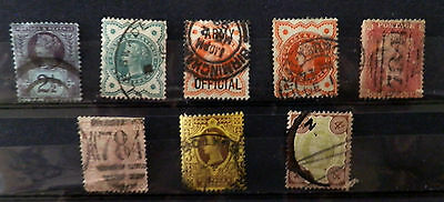 A collection Great Britain stamps of Queen Victoria, Used.#21.