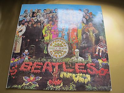 The Beatles * Sgt Peppers Lonely Hearts * 1969 Uk Stereo Lp ! Nm Disc !