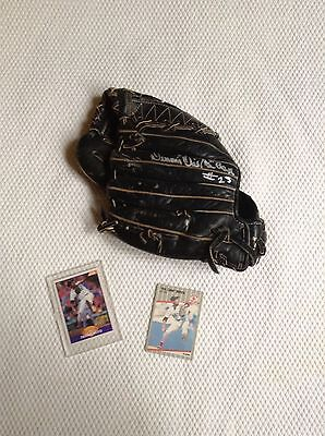 Boston Red Sox Oil Can Boyd Game Used Glove - Autographed