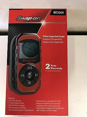 NEW!! Snap-On BK3000 Digital Hand Held Video Inspection Scope
