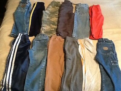 Lot Of 12 Baby Boys Pants Size 3t. Excellent Used Condition. $9.99