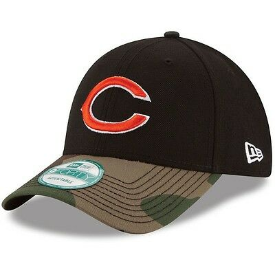 Chicago Bears New Era 9Forty Adjustable Cap Black/Camo