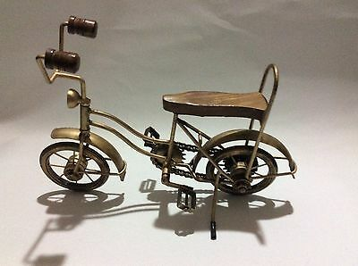 Handicrafts Hand Made Iron Gold Color Cycle Home Decor Gift Decoration