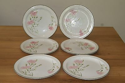 "Set of six midwinter stonehenge Invitation 10.5"" dinner plates"