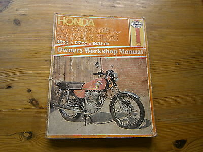 Haynes Workshop Manual Honda CB100 & CB125