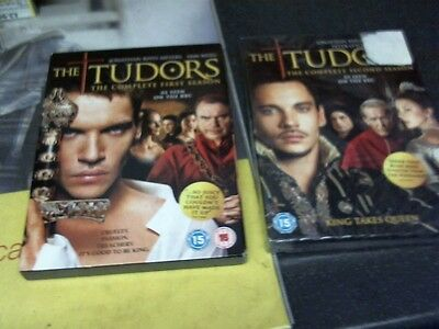 The Tudors The complete 1st and 2nd season DVD boxset
