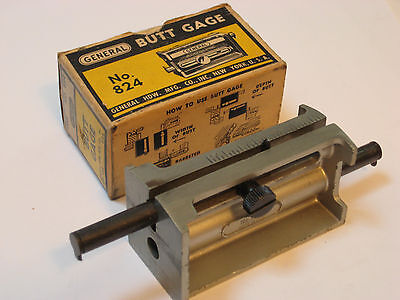 General 824 butt gage measuring tool woodworking joinery gauge
