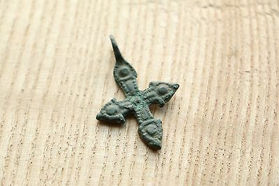 Traditional Viking Kievan Rus Pendant Cross 9-10 AD