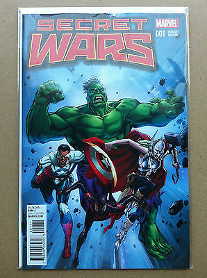 "Secret Wars (2015) #1 Butch Guice 1:25 ""classic"" Variant First Print Near Mint"