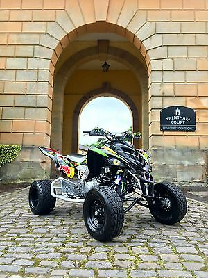 **raptor 700R Special Edition*road Legal Red Bull Show Bike*widened*