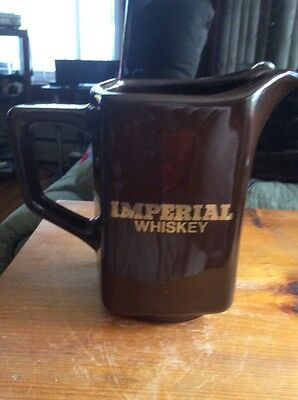 Imperial Whiskey Kingwood USA Advertising Pitcher Bx 74