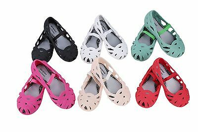 Nice Birdnest Girls Mini Melissa Summer Shoes Sandals Toddlers US Size 7-12