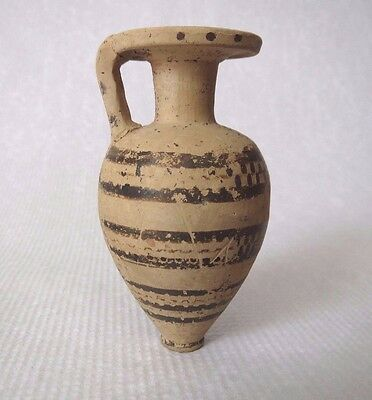 Ancient Pottery Aryballos Amphora Corinthian type 6th Century B.C.