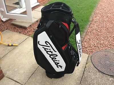 Titleist mid size tour cart bag 2017 used once
