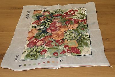 Glorafilia summer harvest tapestry kit 890 - mostly completed