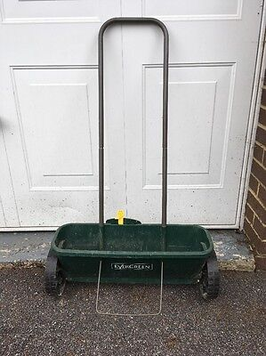 Evergreen Lawn Spreader Good Used Condition For Moss Killer And Granule Feed