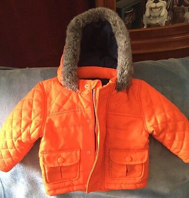 Beautiful Boy Thick Coat M&S Baby 6-9 Months