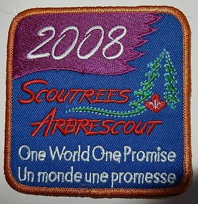 Scoutress 2008 Camp Patch
