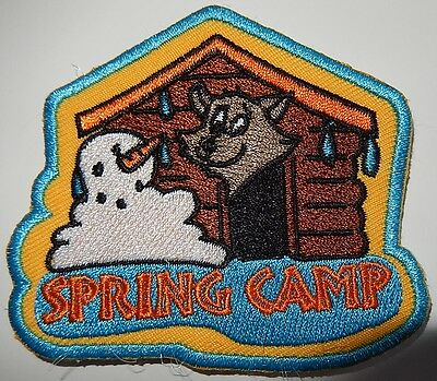 Scout Canada Spring Camp Patch