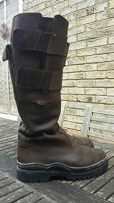 Tuffa Suffolk Long Country Riding Boots UK 5 / 38