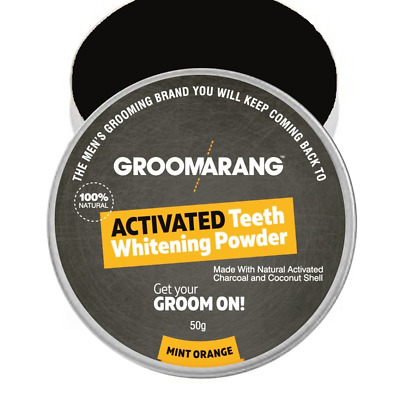 White First - Groomarang Poudre 100% naturelle Blanchiment dentaire charbon