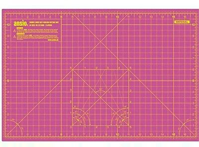 A1 cutting mat pink + free A3 mat Double Sided  Self Healing 5 Layer Eco Resist