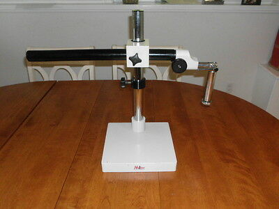 Microscope  Heavy Duty Boom Stand with articulation arm.