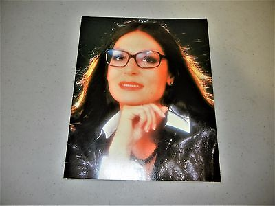 NANA MOUSKOURI SOUVENIR PROGRAM 1988 playbill