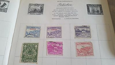 Pakistan 1960's 1970's mixed stamp collection