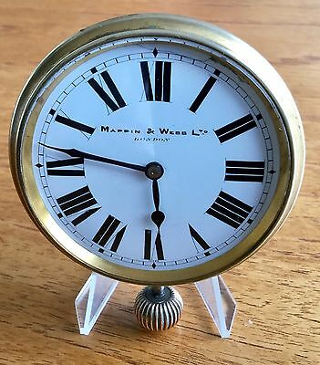 Superb 'mappin & Webb'  London Vintage Swiss Travellers Clock - Lovely Condition