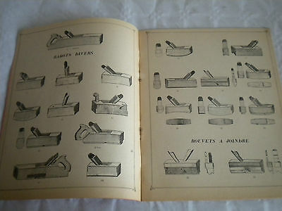 vintage catalogue 1966 Vatinos woodworking planes and other specialist tools