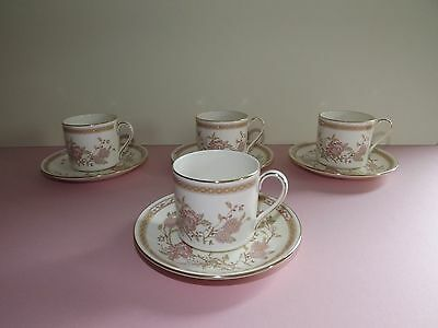 4 Royal Doulton Romance Collection - LISETTE - Coffee Cups & Saucers  (72,240)