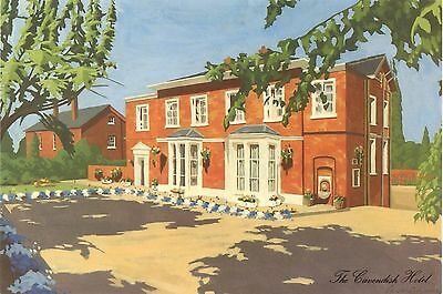 Cavendish Hotel - Hough Green - Chester - Postcard