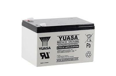 Yuasa REC14-12 Mobility scooter / golf trolley Battery