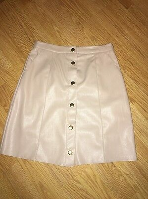 Women's Leather Skirt Size 6 - River Island, Never Worn !
