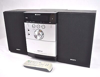 SONY CMT-EH15 Hi-Fi Micro Component System Stereo CD TAPE RADIO TUNER & Speakers
