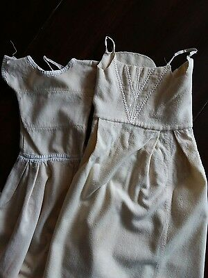 Two Victorian/Edwardian infant's flannel undergarments