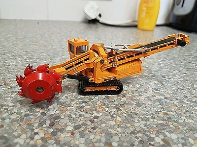 1/100 Shinsei Hitachi Bh 500 Bucket Wheel Excavator No .03
