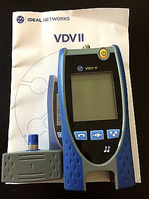 Ideal R158000 VDV II Voice Data Video Cable Wire Mapper