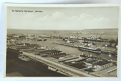 Postcard  St Helens Harbour Jersey
