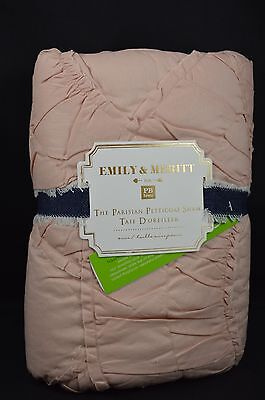Pottery Barn Teen Emily & Meritt The Parisian Petticoat Sham Euro Blush #33