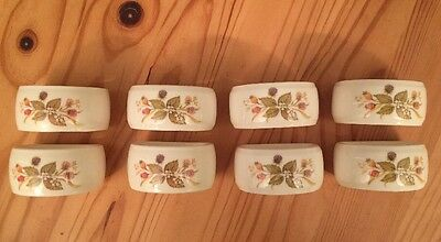 Marks and Spencer Harvest Napkin Rings X8 Great Condition