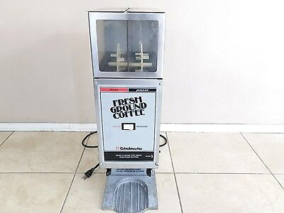 Grindmaster Coffee Grinder 250 Commercial 2 Hoppers ~ Nice Used Condition
